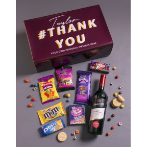 Personalised Thank You Gourmet Giftbox (Standard)
