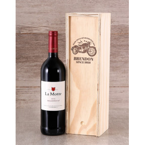 Personalised Better With Age Wine Crate