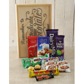 Personalised Self Medicate Choc Crate