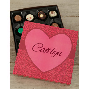 Personalised Sweet Love Choc Tray