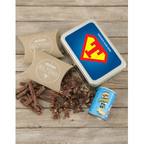 Personalised Superman Snack Tin