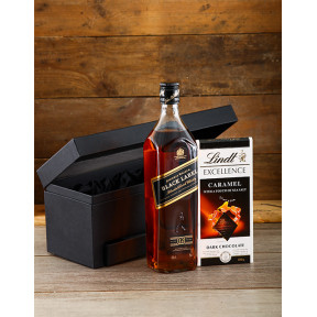 Johnnie Walker Black and Lindt Hamper