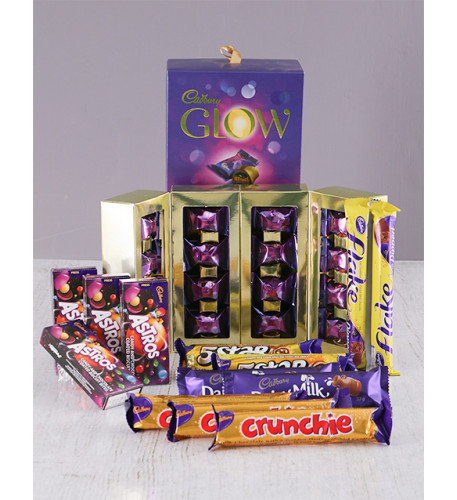 Decadent Cadburys Chocolate Hamper (Small)