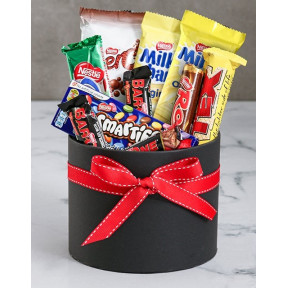 Hat Box Treat Gift (Medium)