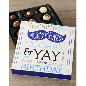 Birthday Wishes Chocolate Box