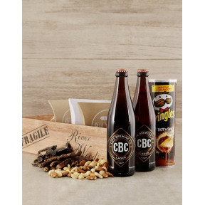Lager Beer Lovers Booze Crate
