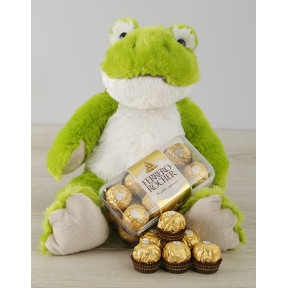 Green Frog and Ferrero Rocher