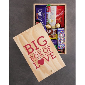Big Box Of Love Chocolate Crate