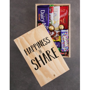 Happiness To Share Chocolate Crate