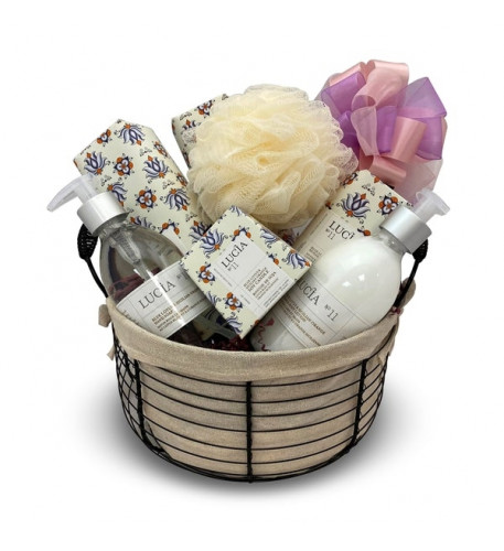 Body and Soul Spa Gift Basket