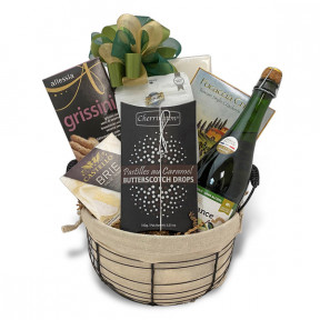 Mix n' Mingle Holiday Treats Gift Basket