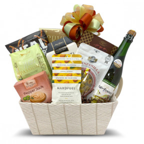 Treat Her Gourmet Snacks Gift Basket