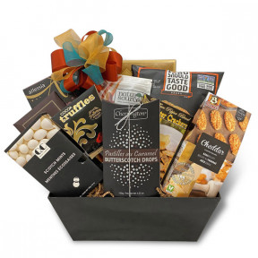 Sweet & Savory Gourmet Snacks Gift Basket