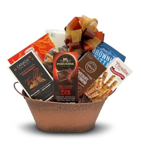 Thank Chocolate Gift Basket