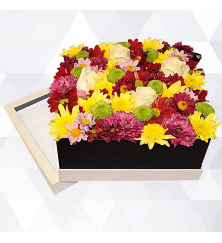 Box Of Fresh Flowers (Small)