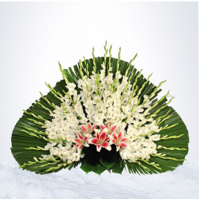 Flower Baskets Funeral (Small)