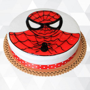 Spider-Man Cake (Medium)