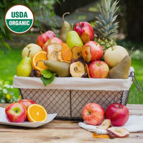 Organic Celebration Fruit Basket