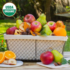 Simply Organic Fruit Basket