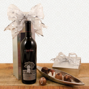 Silver Oak Napa Cab Sauv And Wine Gift Box