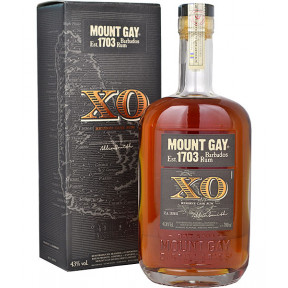 Mount Gay XO Extra Old Rum 70cl