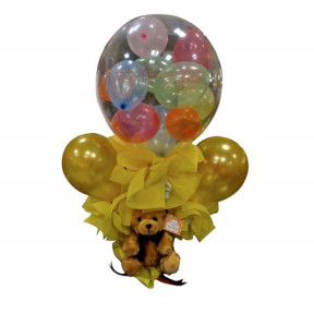 Balloons in a Balloon Bouquet