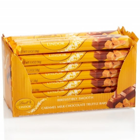 Lindor Caramel Stick 24-Pc Case (31.2 Oz)