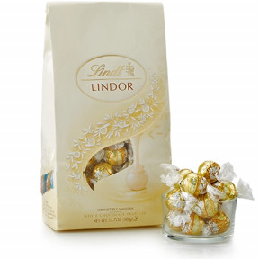 White Chocolate Lindor Truffles 75-Pc Bag (31.7 Oz)