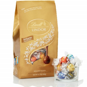Ultimate 8-Flavor Assortment Lindor Truffles 75-Pc Bag (31.7 Oz)