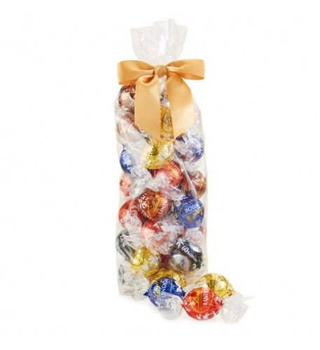 Assorted 5-Flavor Lindor Truffles 28-Pc Bag (11.9 Oz)