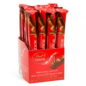 Lindor Milk Chocolate Stick 24-Pc Case (31.2 Oz)