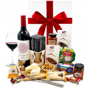 Cheese Platter and Wine Hamper