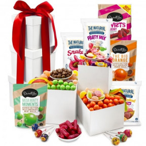 Sweet Tooth Tower – Lollies and Chocolate Gift Tower