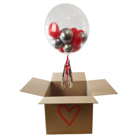 Bubble in a Heart Box