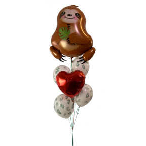 Sweet Sloth Love Bouquet