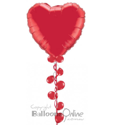 Your big bubbly heart | Balloons Online