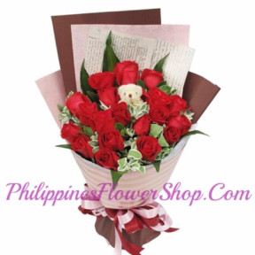 Paradise Red Roses