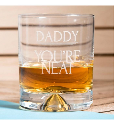Personalised Whisky Glass - You're Neat
