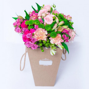 Pamper Me Pink Box Bouquet