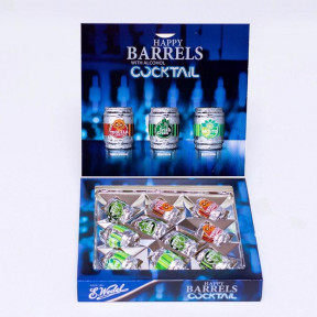 E. Wedel Happy Barrels Cocktail Chocolates 200g