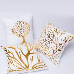 Set Of Three Tree Throw Pillow Covers