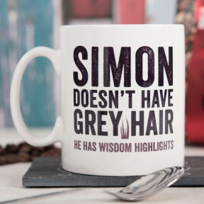 Personalised Mug - Wisdom Highlights