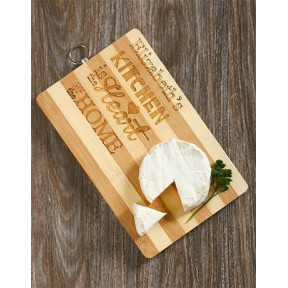 Personalised Heart Of The Home Chopping Board