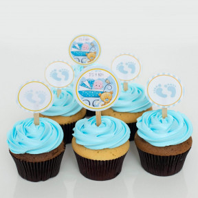 It's A Boy! Baby Shower Cupcakes