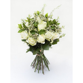 White Rose Bouquet (Small)