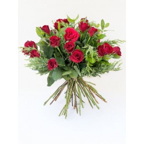 Premier Red Rose Bouquet (Small)