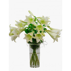 St Joseph Lilly Vase Arrangement (Small)