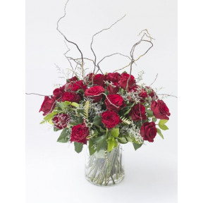 Glorious Red Rose Arrangement (Small)
