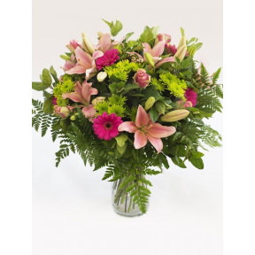 Heavenly Pink Vase Arrangement (Small)