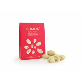 Rose Pepper White Chocolate Almonds (100g)